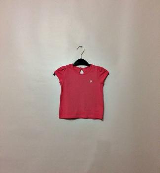 Детская розовая футболка для девочек