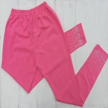 Розовые облегающие лосины