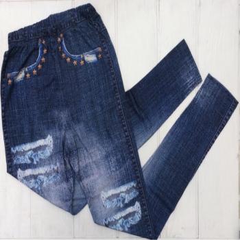 Облегающие лосины для девочек под джинс