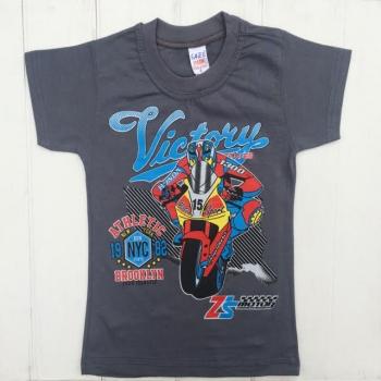 Серая футболка для мальчика