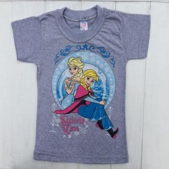 Серая футболка для девочек