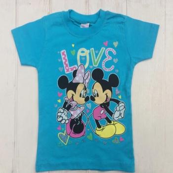 "Голубая футболка ""Микки"""