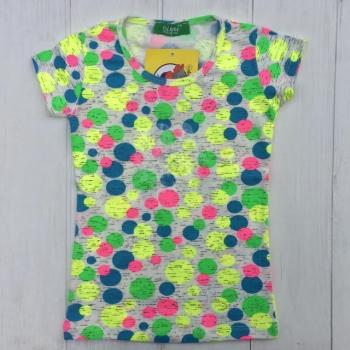 Цветная футболка для девочек