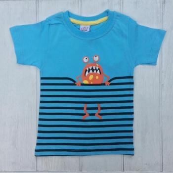 Голубая футболка для мальчиков