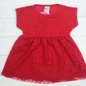 Красное платье для девочек, Турция