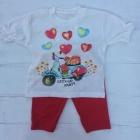 Детский комплект футболка и лосины,Турция