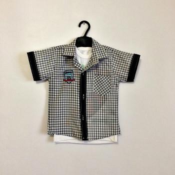 Детская рубашка+футболка