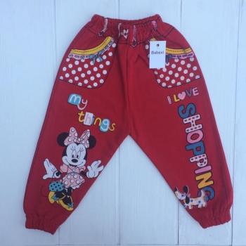 Спортивные штанишки для девочек 80-104 рост