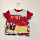 Костюм 2-ка (футболка+шорты) с принтом