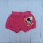 Розовые шорты для девочек