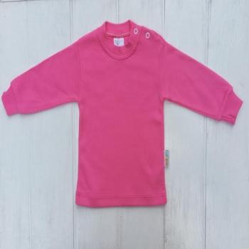 Ярко-розовый стильный гольф