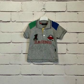 Детская серая футболка 74