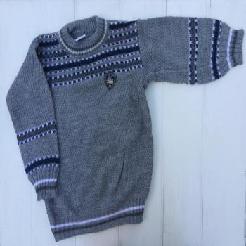 Вязанный свитер для мальчиков