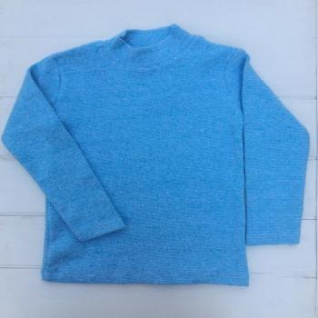 Голубой свитер 128
