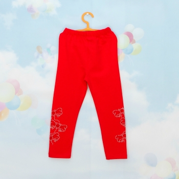 Модные детские лосины кораллового цвета